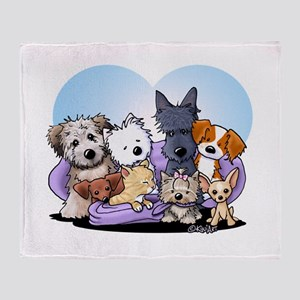 The Littlest Souls Throw Blanket